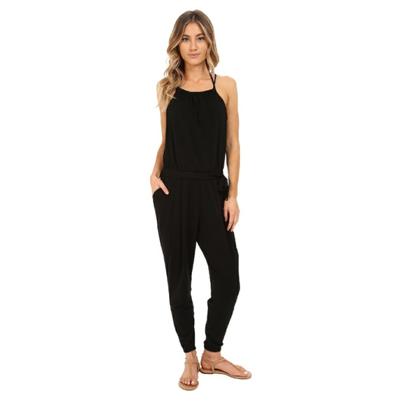529a78dae595b Seafolly Black Safari Jumpsuit Cover-up Size Small.  M_5b15d792bb761533fe547f51. Other Pants ...
